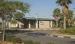 Caesarea-Pardes Hanna railway station - Western side of the station