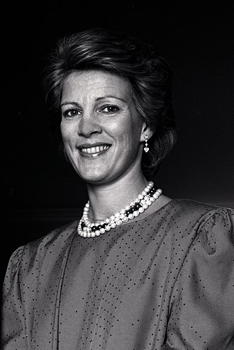Queen Anne-Marie of Greece - Queen Anne Marie in 1987