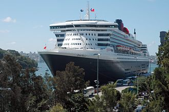 Port of Southampton - Queen Mary 2