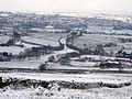 Queensbury Triangle, in the snow (2238272861).jpg