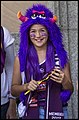 Queensland Netball Firebirds parade day-19 (19235028052).jpg