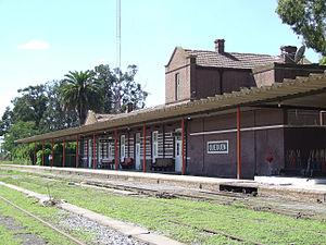 Quequén - Train station.