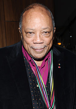 Quincy Jones vuonna 2014.
