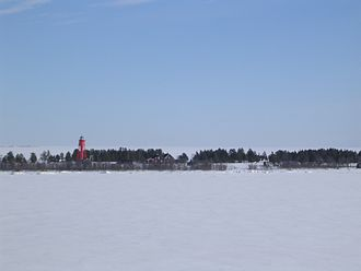 Luleå archipelago - Rödkallen in winter