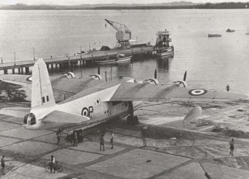 RAF Seletar ramp 205 Sqn Sunderland