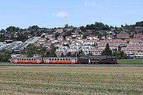 Train of the RBS in Stettlen (2009)