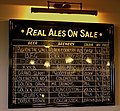 REAL ALE LIST AT THE LYCH GATE TAVERN WOLVERHAMTON JUNE 2013 (9056783020).jpg