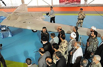 Lockheed Martin RQ-170 Sentinel - The American built RQ-170 in Iran.