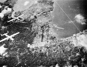 Rabaul under air attack.jpg