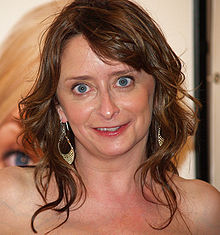 Dratch smiling