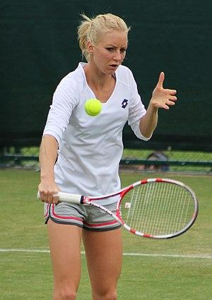 Urszula Radwańska - Urszula at the 2013 Wimbledon Championships