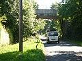 Railway bridge over Ripley Lane, West Horsley - geograph.org.uk - 51452.jpg