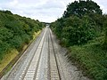 Railway to Paddington from Wales, Brinkworth - geograph.org.uk - 905346.jpg