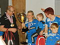 Rakul Augustinussen from Neistin with the trophy 2013.JPG