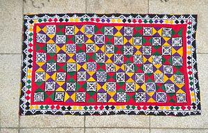Ralli quilt - An appliqué ralli quilt