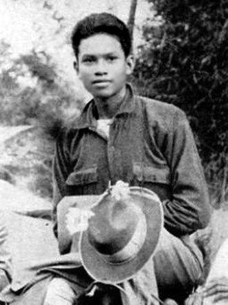 Ramon Magsaysay - Magsaysay in his teenage years