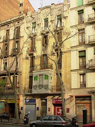 Sant Antoni, Barcelona - Ronda de Sant Antoni.