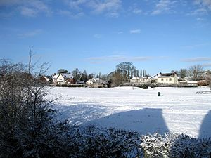 Ravenstone, Leicestershire - Ravenstone, December 2009.