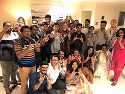 Reception for the WikiGap edit-a-thon 2019 contributors in Bangladesh 01.jpg