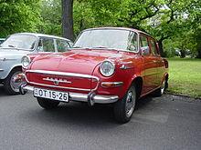 Škoda 1000 MB del 1964