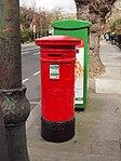 Red pillar box (1916 Celebrations 2016) Northumberland Rd 2.JPG