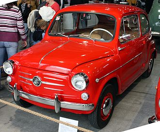 Fiat 600 - Zastava 750