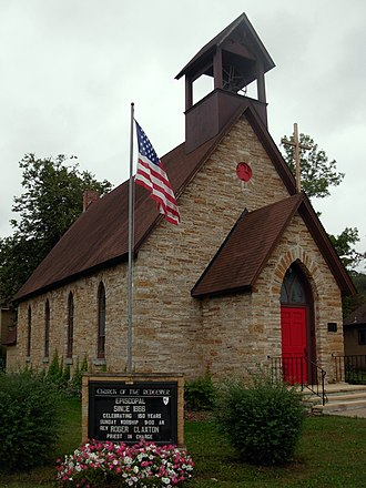 Church of the Redeemer (Cannon Falls, Minnesota) - Image: Redeemer Episcopal Cannon Falls MN