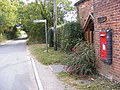 Reepham Road and Themelthorpe Road Victorian Postbox - geograph.org.uk - 1521216.jpg