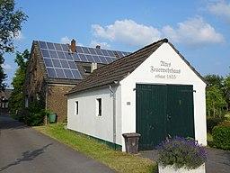 An der Kirche in Rees