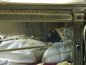 Martinianus (bishop of Milan) - Relic of Saint Martinianus, Cathedral of Milan