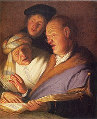 Three Singers (Allegory of Hearing)