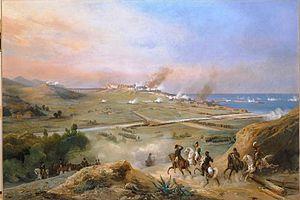 Siege of Tarragona (1811) - A view of Tarragona