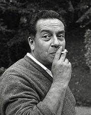 Renato Guttuso nel 1960