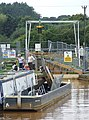 Repairs to Lock No 50, Trent and Mersey Canal, Alsager, Cheshire - geograph.org.uk - 576614.jpg