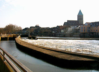 Rheine Place in North Rhine-Westphalia, Germany