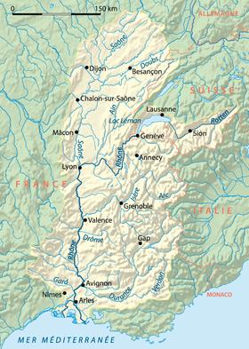 Cuenca del río Ródano
