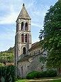 Rhuis (60), église Saint-Gervais-et-Protais, clocher.jpg