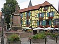 Ribeauvillé - Maison - 5 place de la Sinne (pas dans liste) (5-2016) IMG 3309.jpg