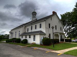 Graceham, Maryland - Graceham Moravian Church and Parsonage