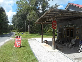 National Register of Historic Places listings in Hernando County, Florida - Image: Richloam General Store and Post Office 3