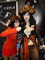 Riddle and Monika Lee at Dragon Con 20130831.jpg