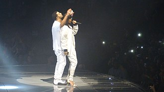 Work (Rihanna song) - Rihanna performing with Drake in 2016