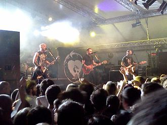 Melodic hardcore - Rise Against, formed in 1999, achieved widespread success by 2004.