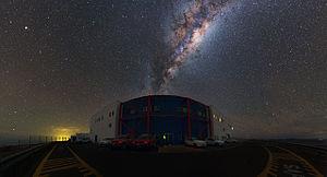 Dark-sky preserve - Image: Rise of the Milky Way