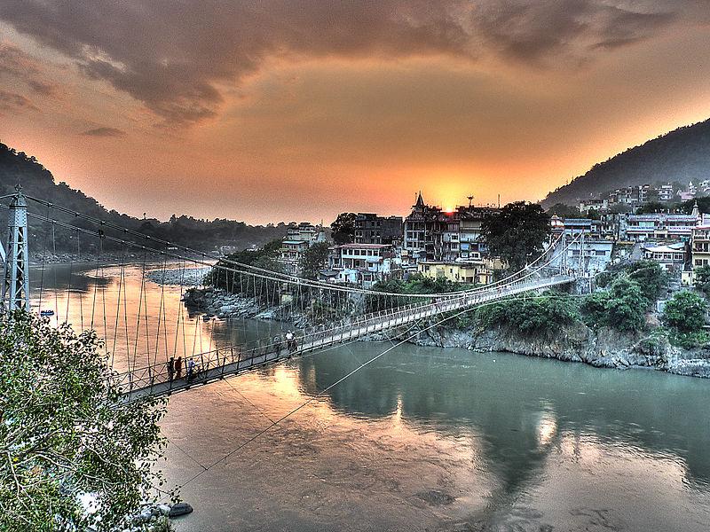 File:Rishikesh - Lakshman Jhula.jpg