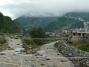 Samalá River - The Samalá River at Zunil