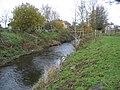 River Alyn-Afon Alun and summerhouse - geograph.org.uk - 281548.jpg