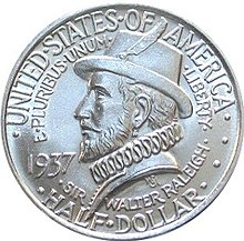 Roanoke colony half dollar commemorative obverse.jpg