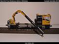 Robel Bullok BAMOWAG 54.22 Track Maintenance Vehicle - DB Bahnbau Kibri 16100 Modelismo Ferroviario Model Trains Modelleisenbahn modelisme ferroviaire ferromodelismo (11695985175).jpg