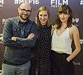 Robert Greene, Bennett Elliott, Kate Lynn Sheil at Montclair Film Festival.jpg